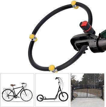 LieYuSport Candados Plegables Candado Bici,23mm de Diametro ...