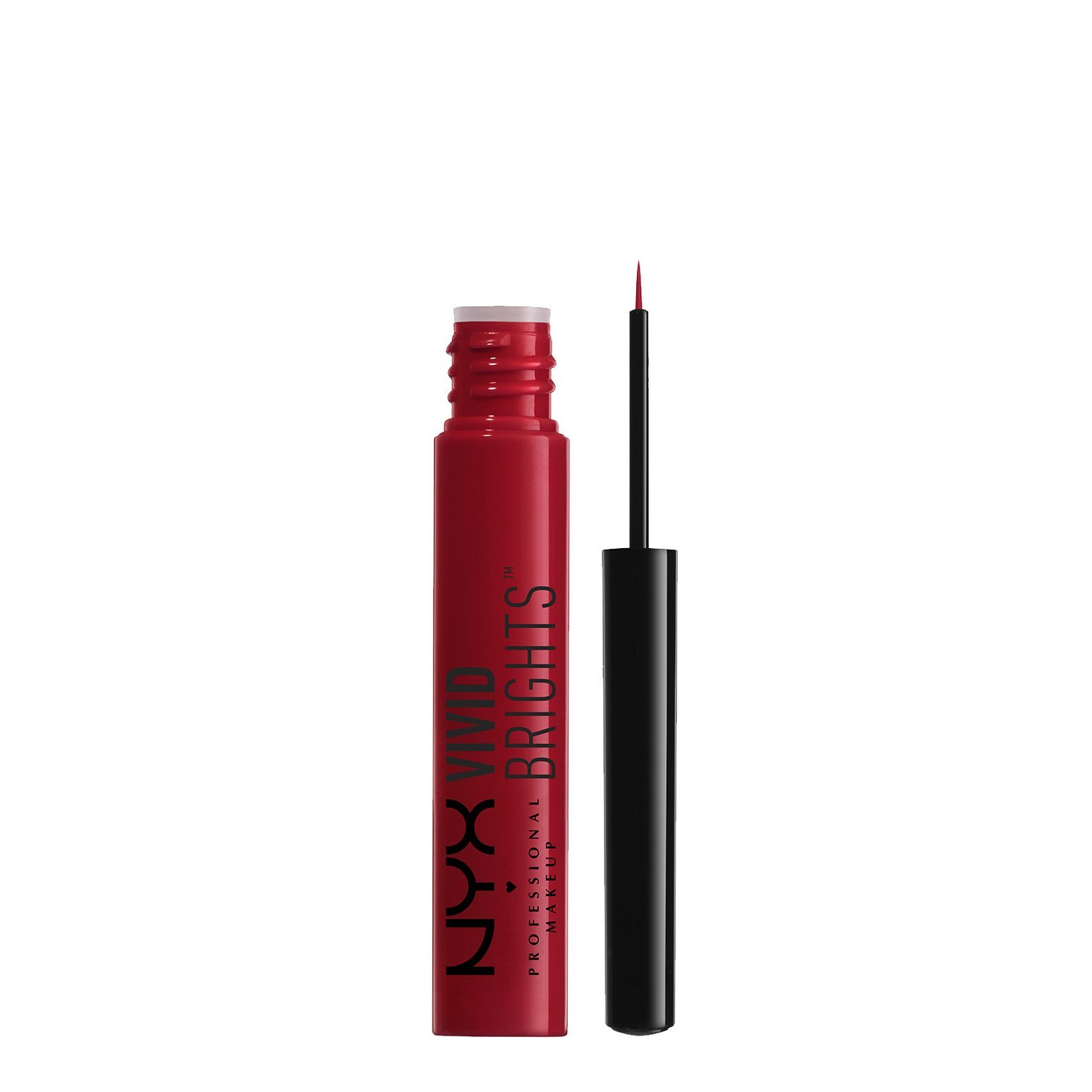 NYX PROFESSIONAL MAKEUP Vivid Brights Liner, Fire, 0.068 Fluid Ounce