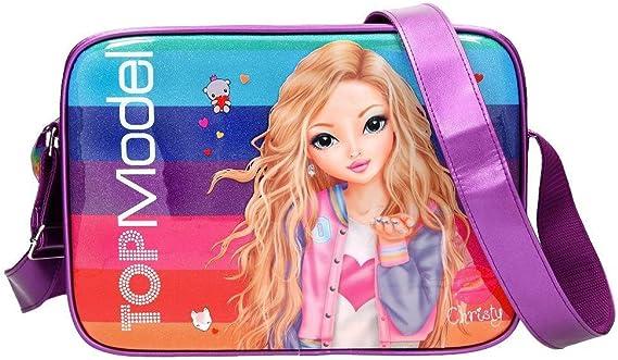 Top Model Bolso Bandolera Topmodel Friends Purpurina Bolso Bandolera, 40 cm, Multicolor: Amazon.es: Ropa y accesorios
