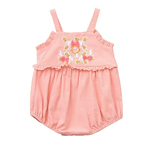 Baby & Toddler Clothing Baby Gap Pink Floral Soft Knit Romper Outfit Size 6-9 Months Clothing, Shoes & Accessories