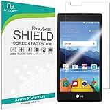 LG K8V (K8 V) Screen Protector [Military-Grade] RinoGear Premium HD Invisible Clear Shield Anti-Bubble