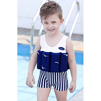 Amazon.com: ARAUS Kid Floating Buoyancy One-Piece Swimsuit Baby Boy Girl Swimwear Float Suit Swimming Costume Age 1-10 Years: Clothing