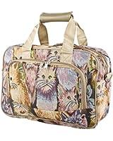 World Traveler Animal Print Collection Overnight Travel Bag 15-inch