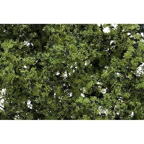 Fine Leaf Foliage 75 Square Inches-Light Green - Woodland Scenics Tree Armatures