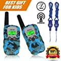 Walkie Talkies Kids Two Way Radio Wireless Interphone 22 Channel GMRS Durable Toy Handheld Walkie Talkie 2 Miles Long Range Battery Operated Boy Gift for Outdoor Adventures Camping and Hiking from Aikmi