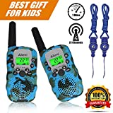 #2: Walkie Talkies Kids Two Way Radio Wireless Interphone 22 Channel FRS GMRS Durable Toy Handheld Walkie Talkie 2 Miles Long Range Battery Operated Boy Gift for Outdoor Adventures Camping and Hiking Camo