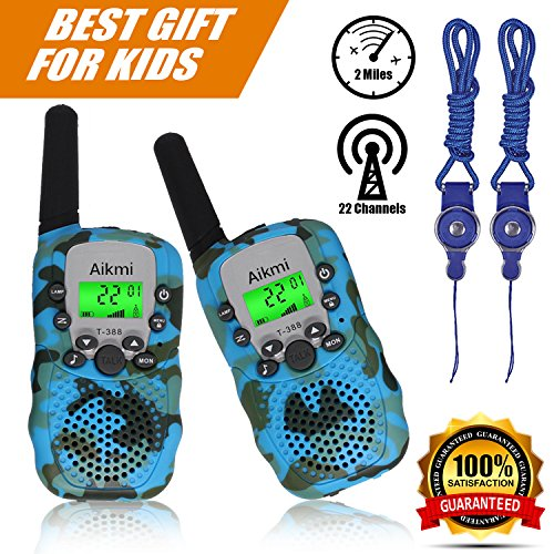 Discover Bargain Walkie Talkies Kids Two Way Radio Wireless Interphone 22 Channel FRS GMRS Durable T...