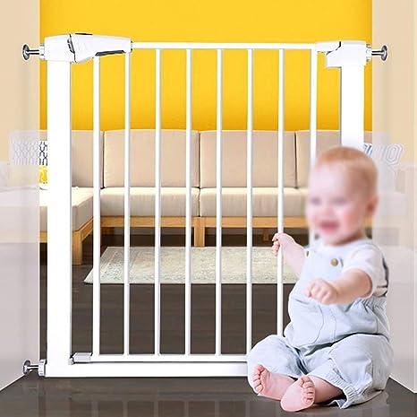 L.TSA Puerta de bebé Puerta para Mascotas Parque Infantil de Seguridad para bebés Puerta de Seguridad para niños Barrera para niños Puerta de Puerta Puertas de Escalera Puerta de bebé re: Amazon.es: