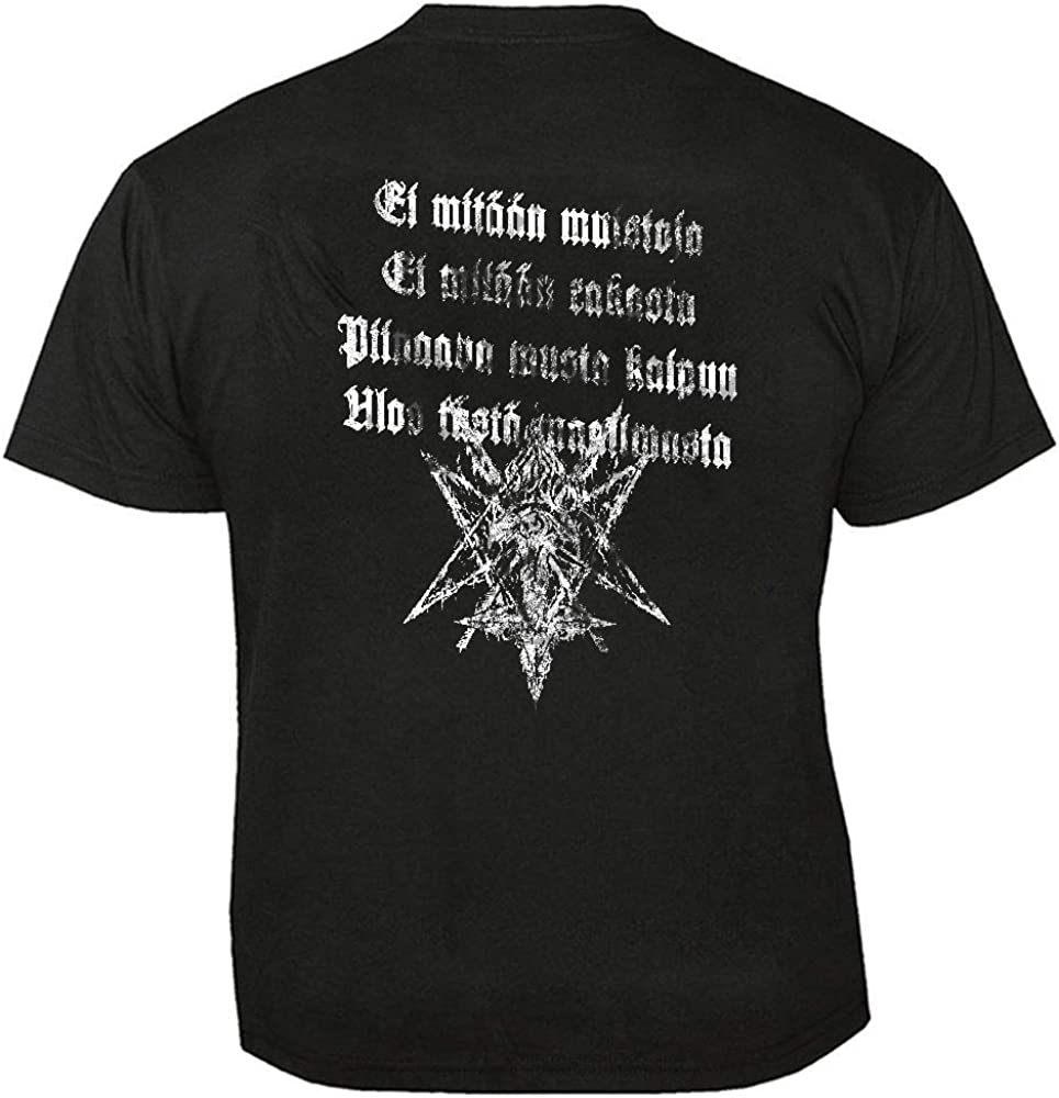 Musta Kaipuu T-Shirt HORNA
