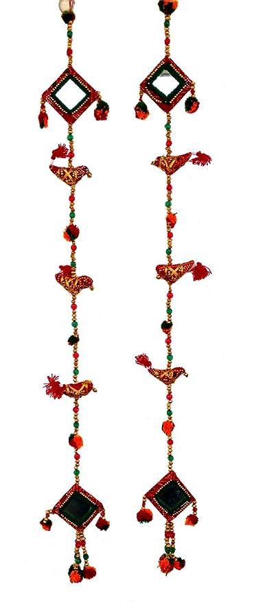Amazon Com Rastogi Handicrafts Handmade Wall Hanging Mirror And