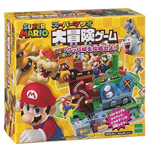 Super Mario Large Adventure Game Capture a Bowser Castle!