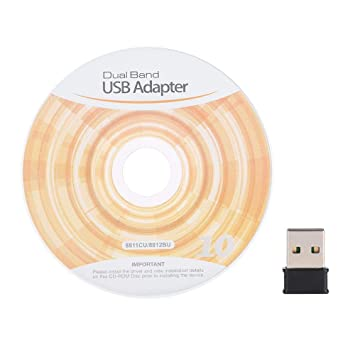 Adaptador WiFi USB, Tarjeta de Red inalámbrica de 1200Mbps ...