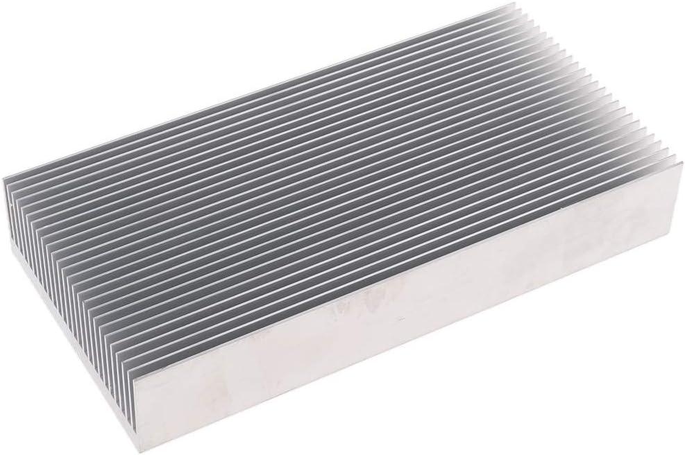High Cooling Performance 160x80x26,9mm ca Perfekt f/ür CPU PCB und Triode perfk Professionell Alu-K/ühlk/örper K/ühlrippe Heatsink