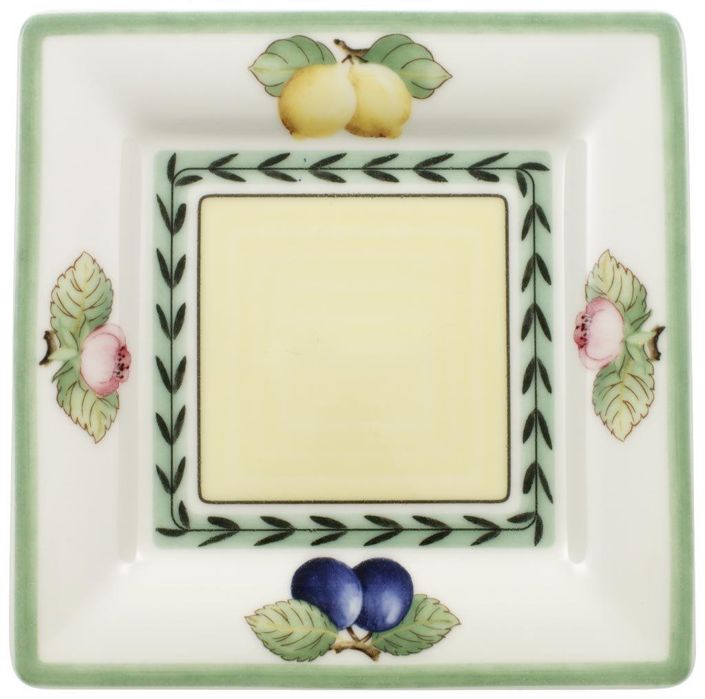 Villeroy & Boch French Garden 6-1/2-Inch Square Tea Saucer