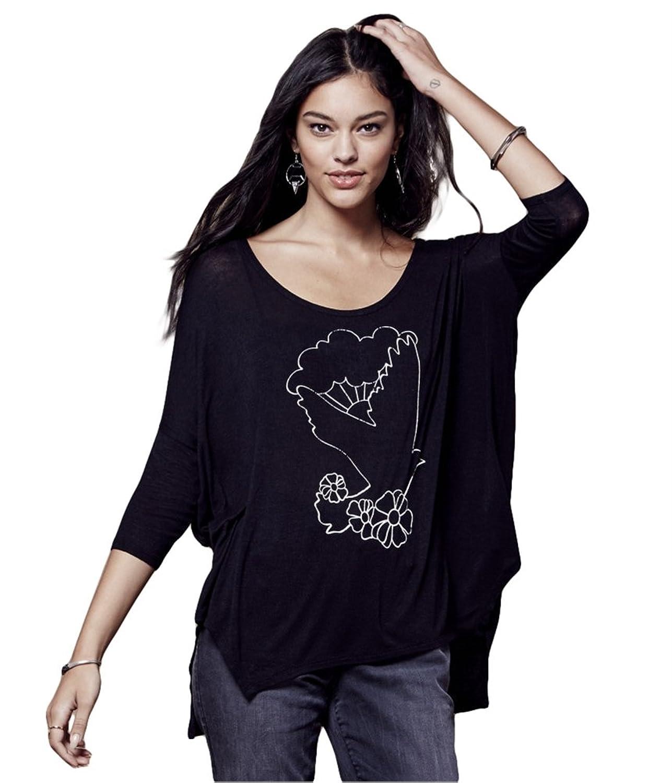Aeropostale Womens Bird in Flight Graphic T-Shirt