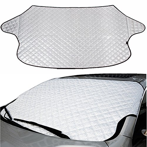 Moyishi Universal Car Windshield Snow Cover & Sun Shade for sale  Delivered anywhere in USA