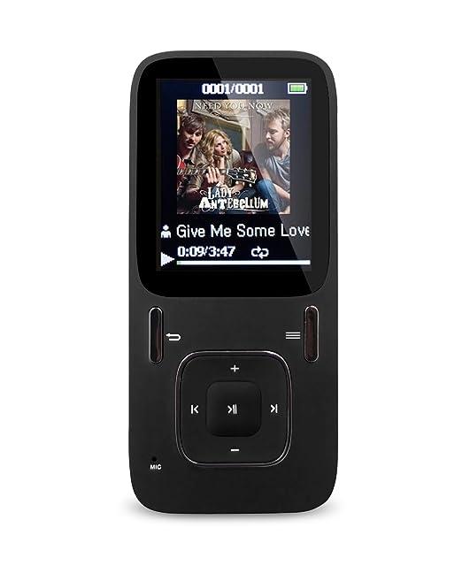 """177 opinioni per AGPTek B03 lettore MP3 8 GB schermo 1,8"""" con radio FM (supporta fino a 64 GB"""