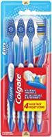 Colgate Extra Clean Toothbrush, Soft, 4 Count Value Pack