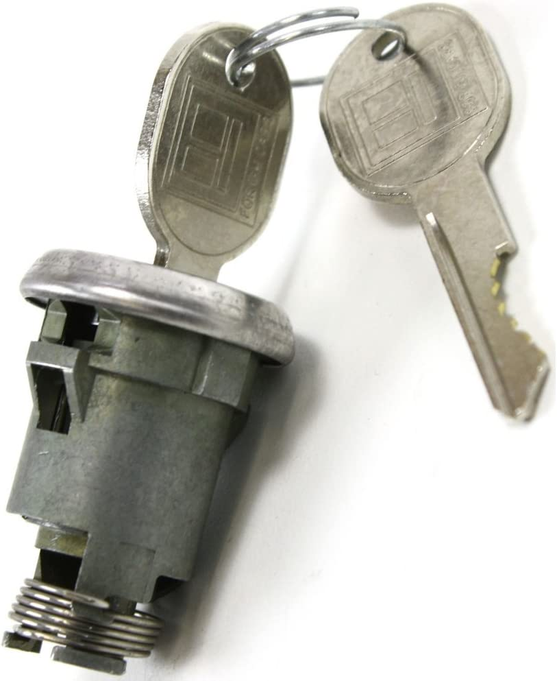 Trunk Lock compatible with Buick Lesabre 64-98 Cylinder Chrome Keys Included Completely Assembled