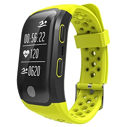 Reloj deportivo, GPS corriendo natación Smart Sports de Plein Air Hombres y Mujeres Fitness Tracker