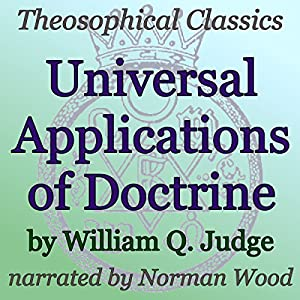 Universal Applications of Doctrine Audiobook