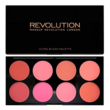 Makeup Revolution Ultra Professional Cream Blush Palette All About Cream