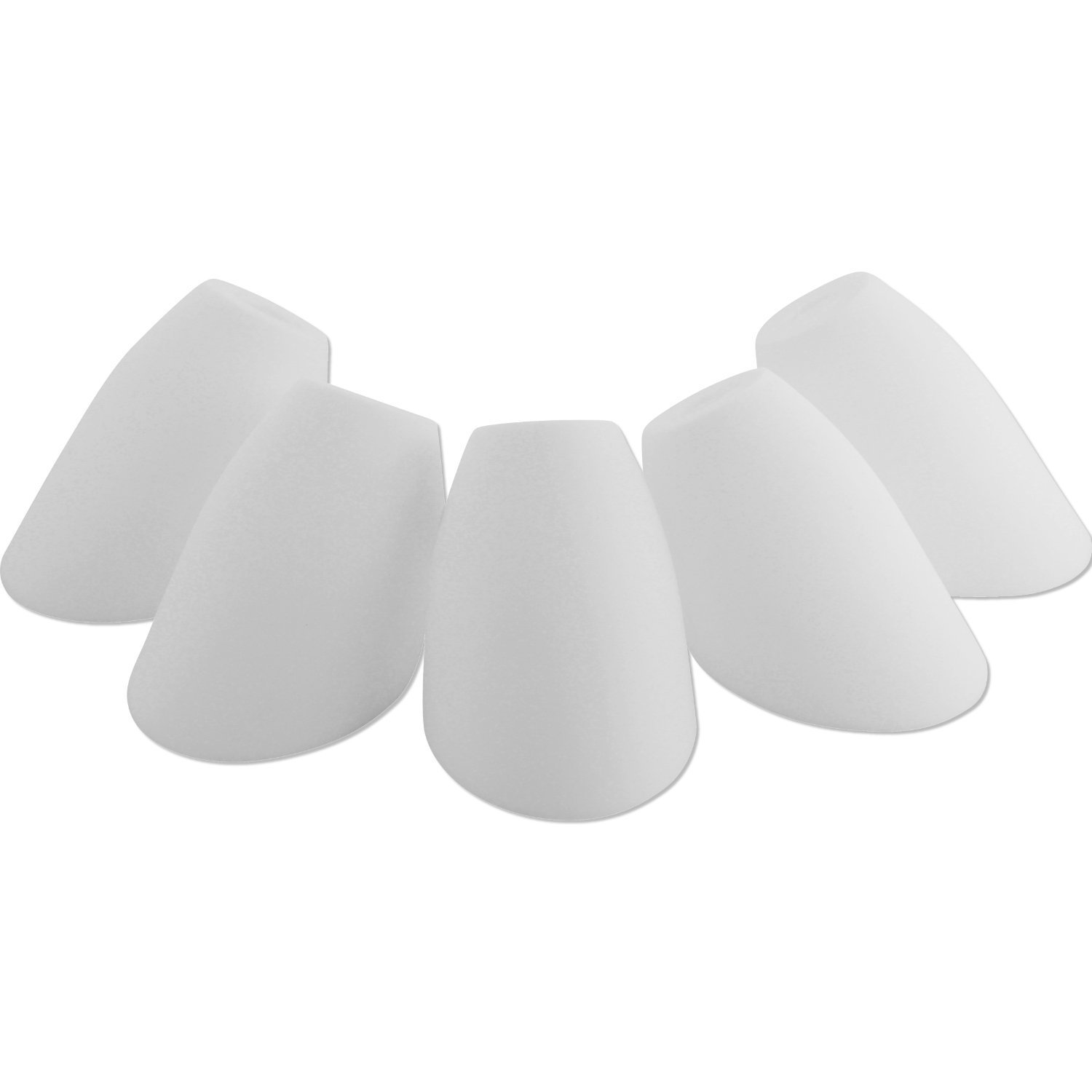 Amazon replacement shades for candelabra base only base hole amazon replacement shades for candelabra base only base hole dimension 083 inches 21 mm white acrylic shades model 16197 98 set of 5 home aloadofball Image collections
