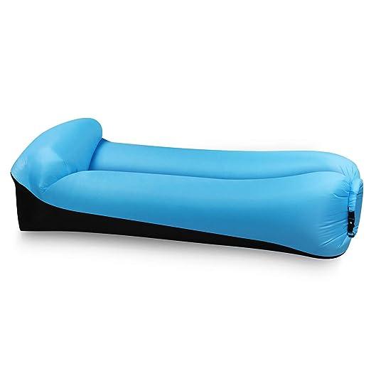 Xch Sofa Hinchable del Aire del Ocioso de con el Paquete Portable ...