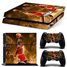 GOOOD PS4 Designer Skin Decal for PlayStation 4 Console System and PS4 Wireless Dualshock Controller - NBA 2K16