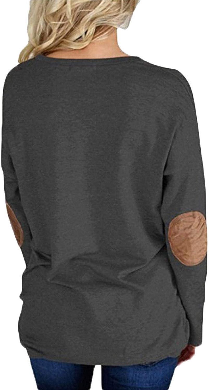 Happy Sailed Womens Casual Crewneck Sweatshirt