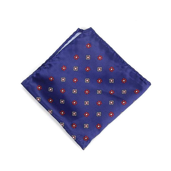 Pocket square Satin Floral Chest Towel embroidery Hankies Men handkerchief