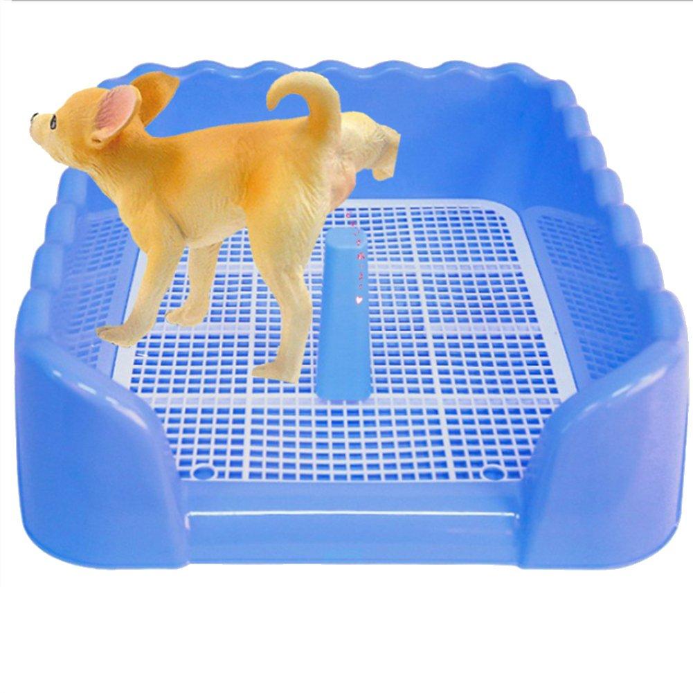 YAOBAO Portátil Plástico Vallado Inodoro Orinar Bandeja De Formación Caja De Litera para Perro Cachorro Mascota: Amazon.es: Deportes y aire libre