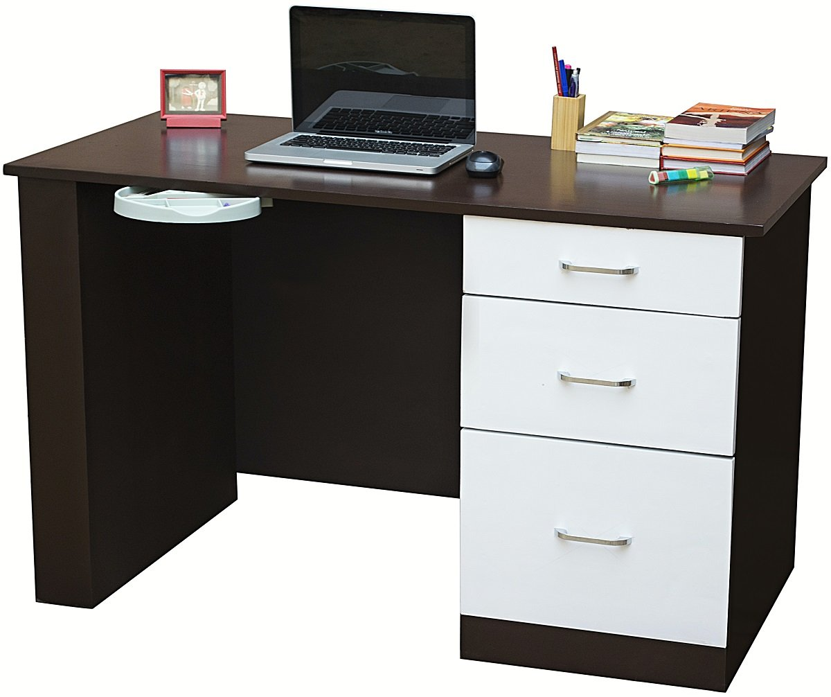 desks shaped study l teknik desk home office