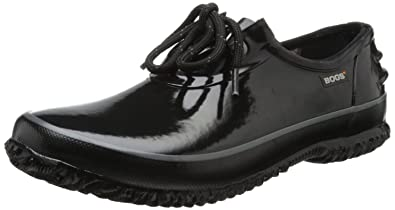 Bogs Women's Urban Farmer Waterproof Shoe,Black,6 ...