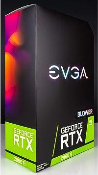 Amazon.com: EVGA GeForce RTX 2080 Ti 11GB GDDR6 Blower Style ...