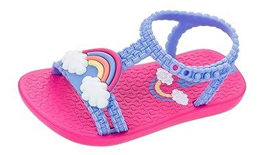 07e637352c Amazon.com | Ipanema Baby My First Rainbow Sandals Infant Girl Flip ...