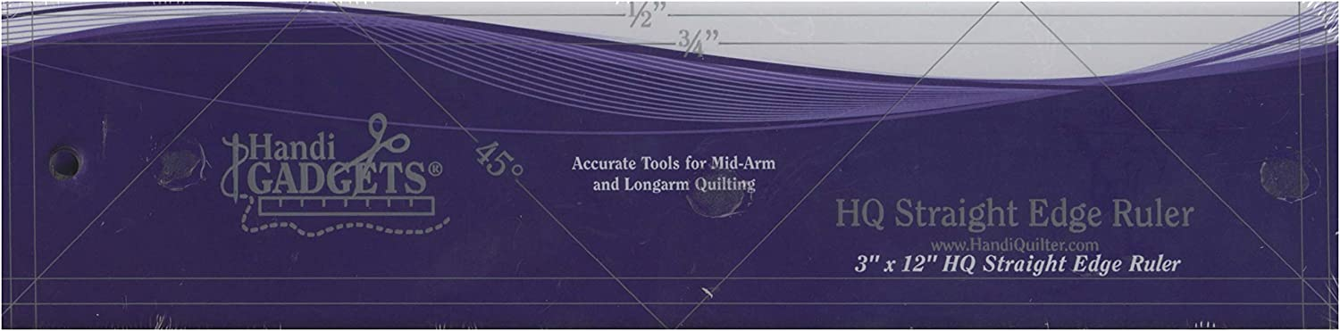 Handi Quilter, Inc HQ Straight Edge Ruler 3in x 12in