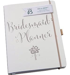 Busy B Bride To Script Bridesmaid Planner