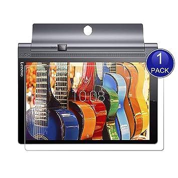 X-Dision HD Protector de Pantalla Compatible con Lenovo Yoga Tab 3 Pro, 0.26mm HD Proteger la Película, 9H Vidrio Templado Protectora, Anti-Scratch, ...