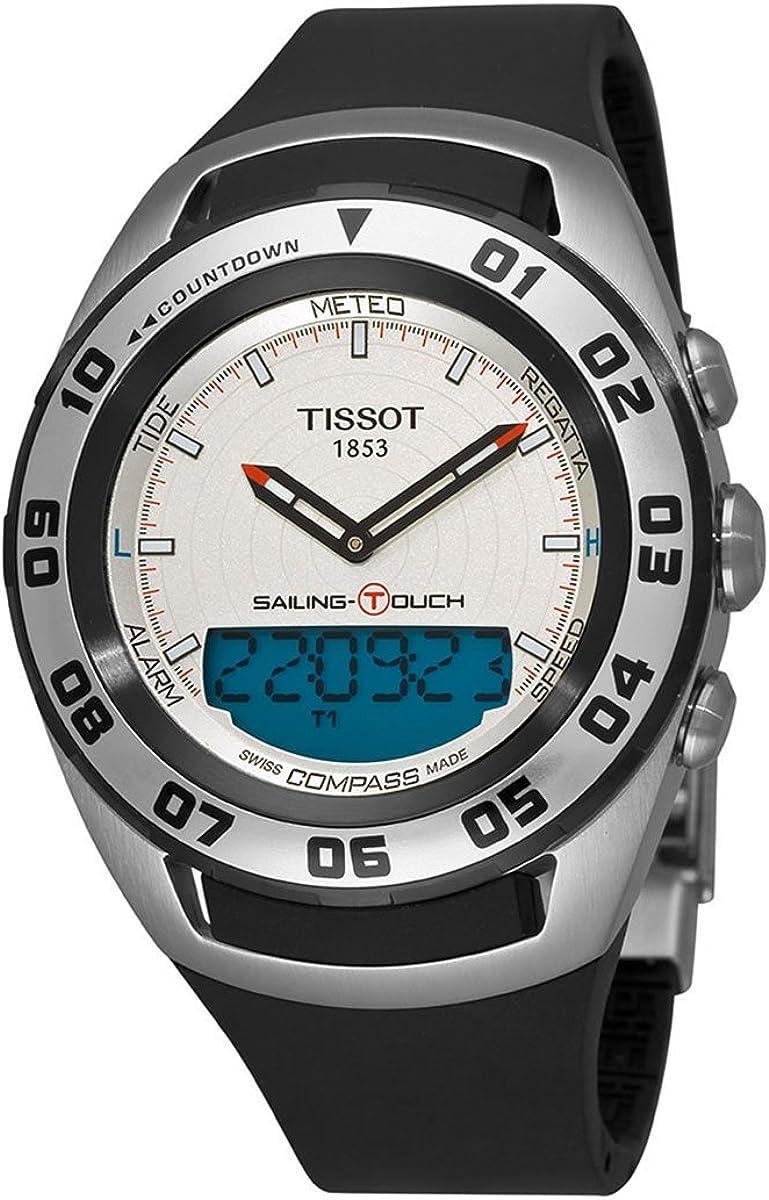 Tissot De los hombres Watch T-Touch Sailing SWISS Reloj T0564202703100