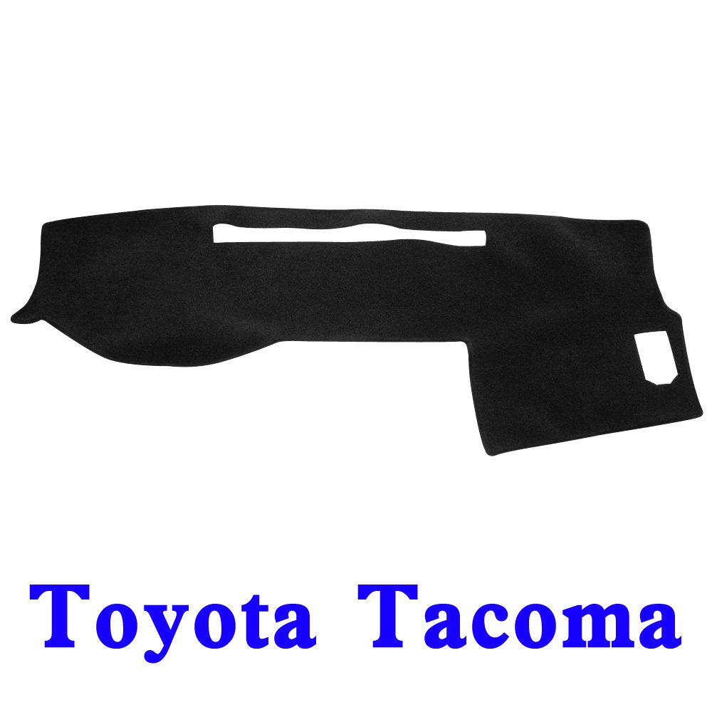 Gray JIAKANUO Auto Car Dashboard Dash Board Cover Mat Fit for Toyota Tacoma 2016-2019