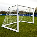 FORZA Alu110 Soccer Goal (Choose Your Size 12ft x 4ft to 24ft x 8ft) – Top Quality Aluminum Soccer Goal Perfect For All Soccer Scenarios [Net World Sports] review