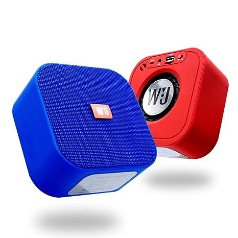 TIAN Mini Altavoz De Bluetooth, Micrófono Incorporado, Compacto, Cuerpo del Metal, Portable