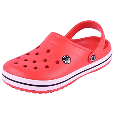 FLIPSIDE Womens Clog Red Clogs  Buy Online at Low Prices in India -  Amazon.in 837309aa3