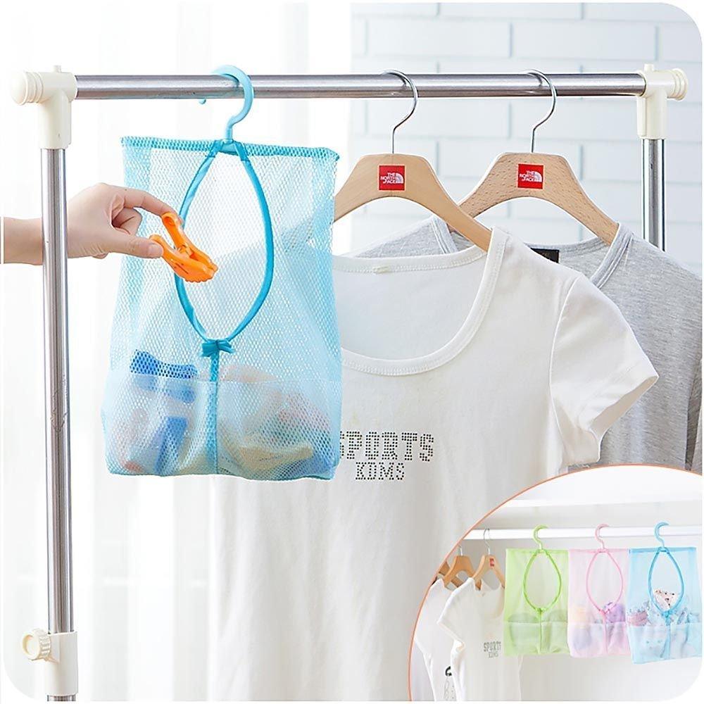 Aufhangen Netzstoff Halterung Wascheklammer Korb Tasche Kuche