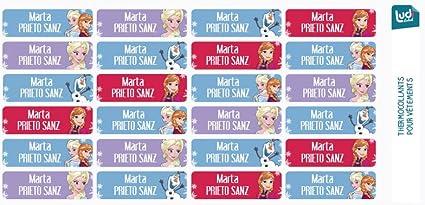 Ludilabel - Lote de 24 etiquetas termoadhesivas para ropa - Disney ...