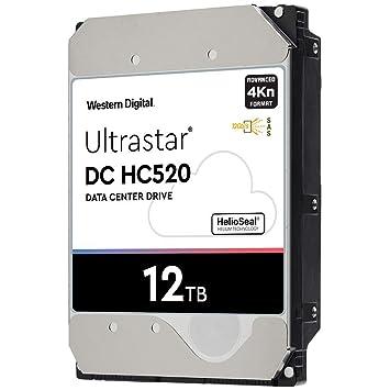 Amazon com: HGST WD Ultrastar DC HC520 HUH721212AL4200 12TB