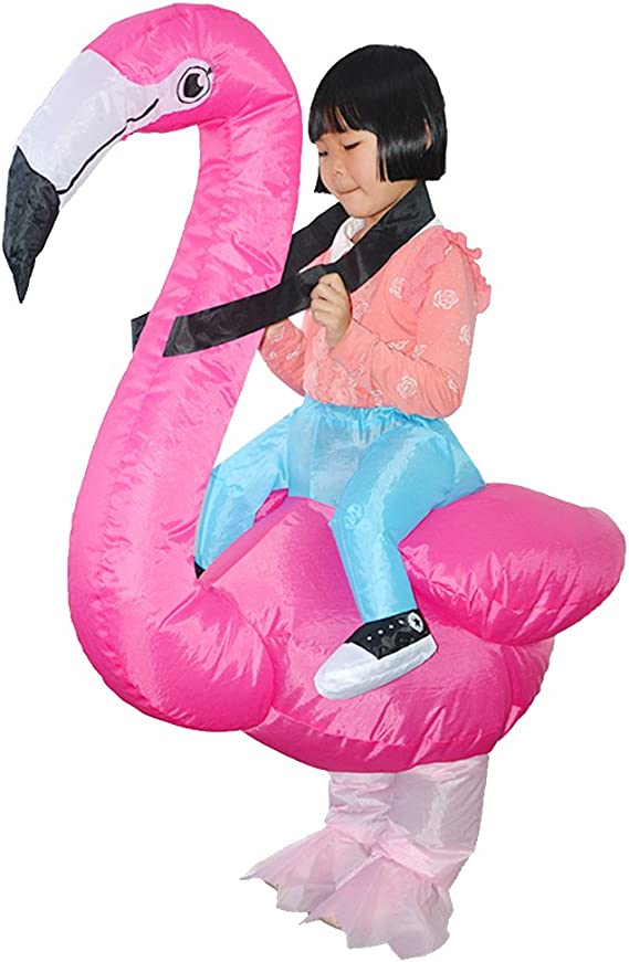 Fantasias Inflaveis Homyl Roupas Infantis Poliester Flamingo Roupas Brinquedo De Festa Infantil Amazon Com Br