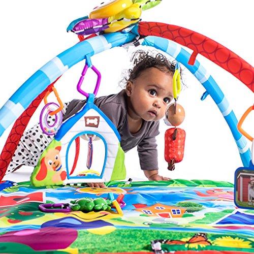 61ds%2BNMejtL - Baby Einstein Caterpillar & Friends Play Gym with Lights and Melodies, Ages Newborn +