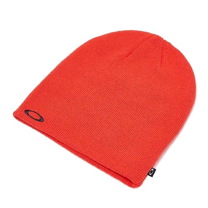 Oakley Gorros Poopy Red de Punto Fino Gorrita Tejida: Amazon.es: Ropa y accesorios